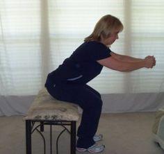 Balance Exercises Reaching Forward
