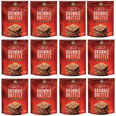 Peanut Butter Chip Brownie Brittle 12-pack 5oz