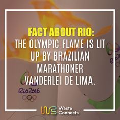 #rio2016 #wasteconnects