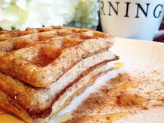 Skinny Weighs: Banana Protein Waffles