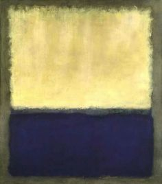 Mark Rothko, Light, Eart and Blue, 1954, Oil on canvas, 191,5 x 170,2 cm