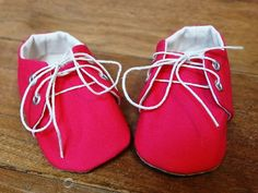 Handmade Baby Girl Sneakers/Shoes Baby Shower by ToastyToesies