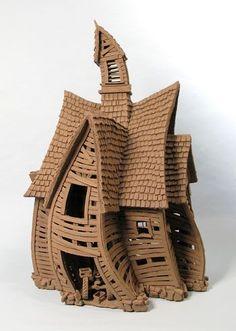 Colbert Creek Barn - Buildings - Gallery - John Brickels, Architectural Sculpture and Claymobiles, Essex Jct, Vermont