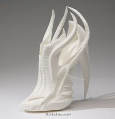 Unusual High Heel 3D Printed Shoes By Janina Alleyne : Misc ...