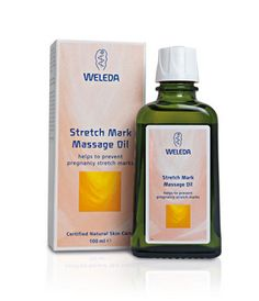 $26.41 - This oil smooths the skin, avoiding the development of stretch marks on the stomach, thighs, bottom and breasts through regular massage. Dermatologically tested, the pure and natural formula nourishes the skin, protecting it from dryness.