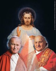 Happy Feast of Divine Mercy and canonization day!