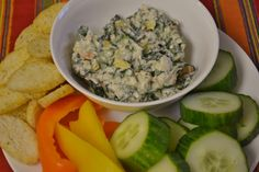 Frozen Spinach Dip (low sodium and gluten free)