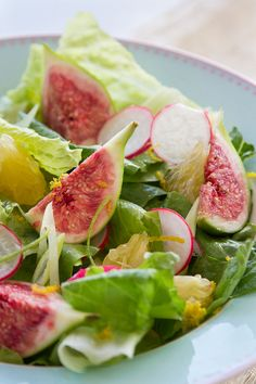 Fresh figs salad