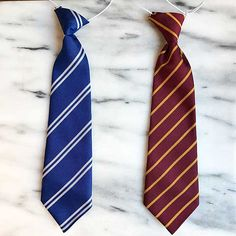 Gryffindor and Ravenclaw ties available at Kit & Caboodle