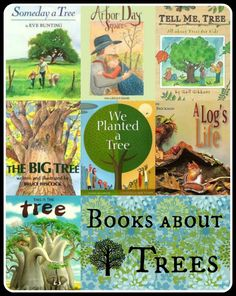 Tons of resources, books, and activities about trees for kids to help them learn about our natural Earth and why we should protect it.