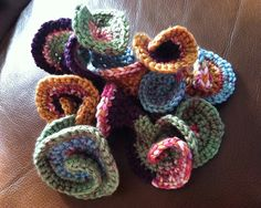 hyperbolic freeform crochet