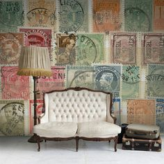 Own the largest stamp collection from Rebel Walls