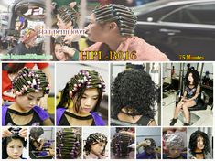 Asian Perm, Hair Couture, Tight Curls, Perms, Permed Hairstyles, Rollers, Hair Beauty, Fashion, Enamel