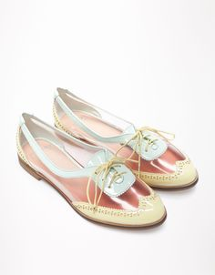 Bershka Kuwait - Bershka vinyl derby shoes