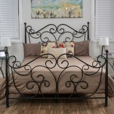 Denise Austin Home Horatio Metal Bed Frame