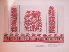 Bulgarian Embroidery: Sleeve - Samokov Region Ръкави от Самоковско