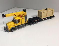 Lego Truck, New Trucks, Cool Lego, Lego Creations, Lego City, Legos, Models, Cars, Cool Stuff