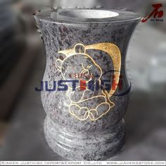 flower carved memorial vase in good factory price Nation State, Xiamen, Shot Glass, Whiskey, Butter, Carving, Vase, Flower, Business