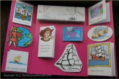 Free Christopher Columbus Lapbook and Notebook Study