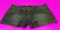 Juniors/girls size 3 mini jean shorts in Clothing, Shoes & Accessories, Women's Clothing, Shorts | eBay