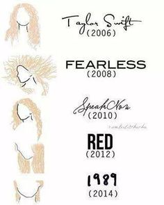 From 2006 to 2014, Swifties forever!