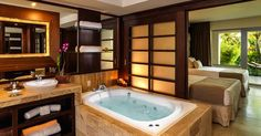 The Reserve At Paradisus Palma Real in Punta Cana, Dominican Republic - Master Suite Private Garden