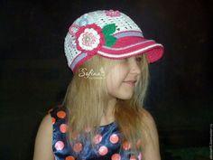 Купить Кепка для девочки Ог 50-52 см - комбинированный, кепка, кепка для девочки