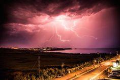 storm chaser catches lightening. huffingtonpost.co.uk/2014