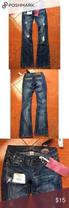 Brand new Almost Famous Flare Jeans Brand new w tags. Size 0. Boot cut jeans Almost Famous Jeans Boot Cut