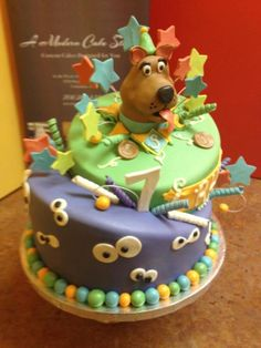 Joshs 8th Birthday Cake Scooby Doo Mystery Van Miami Beach FL My