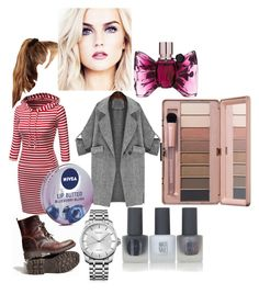 """At an event with Perrie"" by ashleydirectioner2 ❤ liked on Polyvore featuring Calvin Klein, Topshop, Nivea, Viktor & Rolf and ASOS"