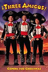 Movie poster for Three Amigos! starring Steve Martin, Chevy Chase and Martin Short from 11 x 17 high quality reproduction on card stock. 80s Movies, Comedy Movies, Action Movies, Great Movies, Movie Tv, Awesome Movies, Movie List, Movies Showing, Movies And Tv Shows
