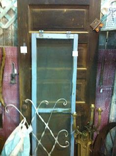 Old door for $35 at an antique mall!