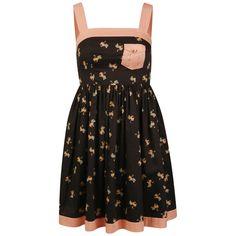 Orla Kiely Women's Sun Dress - Black