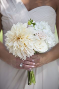 Love this bridesmaid bouquet: http://www.stylemepretty.com/2015/01/28/elegant-summer-aberdeen-manor-wedding/ | Photography: Lady & the Lens - http://www.ladyandthelensphotography.com/