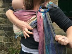 Using a ring sling: where to adjust and how to tighten. | The North East Sling Library
