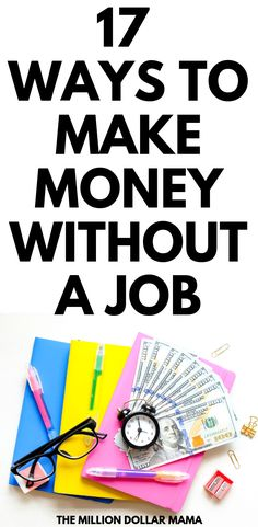 Making Money Without Working: 17 Ways to Make Money Without a Job If you're looking for ways to make money online without working, then click through to find out 17 opportunities. These are all legitimate ways to make money without a job. Ways To Earn Money, Earn Money From Home, Money Saving Tips, Way To Make Money, Money Tips, Money Fast, Quick Money, Make Money From Internet, Earn Money Online Fast
