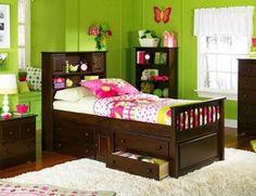 Camas on pinterest boy sleepover bebe and beds - Habitaciones de color verde ...