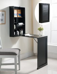 A perfect-for-small-apartments desk that you can fold up when you're not working on it. | 21 Awesome Products From Amazon To Put On Your Wish List