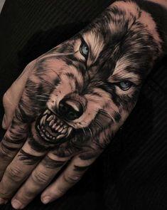Animal Tattoo Designs – 70 Brilliant Hand Tattoos for Men and Women Portrait Tattoo Sleeve, Wolf Tattoo Sleeve, Sleeve Tattoos, Tattoo Wolf, Wolf Tattoo Back, Portrait Tattoos, Tattoo Sleeves, Wolf Tattoos Men, Viking Tattoos