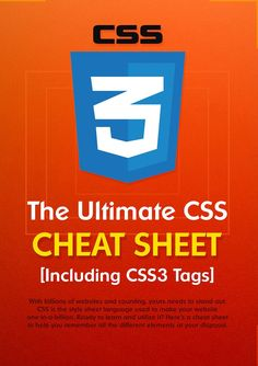 54 Best HTML & CSS Cheat Sheets images in 2018 | Css cheat sheet