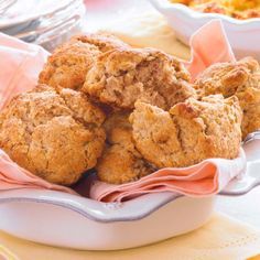 Flavored with cinnamon and pecans, these scones are not only delicous, but also fast and easy to make.