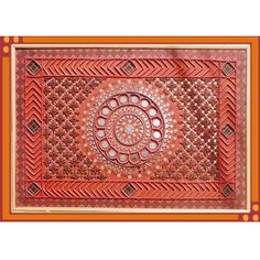 kutch mud art | Kutch Mudwork Hanging-Home Decor-Meera Handicrafts