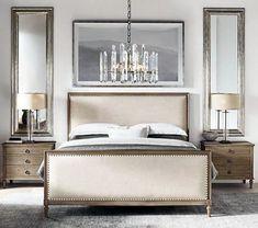 White Bedroom, Bedroom Sets, Bedroom Colors, Modern Bedroom, Contemporary Bedroom, Bedding Sets, Bedroom Brown, Bedroom Classic, Luxury Master Bedroom