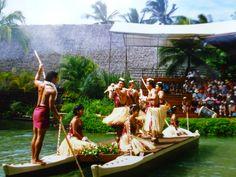 1988 Polynesian Culture Centre, Hawaii