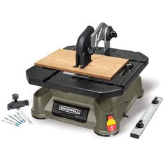 The Rockwell RK7323 is a great table saw for use at a spot. The portable saw comes with a three year warranty that ensures users for a trouble free operation for three years.