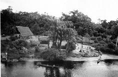 Indian Village, Commewijne River, Suriname, 1937