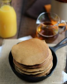 After extensive testing ... here's our recipe (with loads of tips) for making fluffy, delicious, kid-approved, 100% whole grain pancakes.