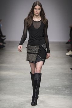 looks great on her, wish list for me...Isabel Marant