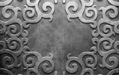 Silver Background Pattern